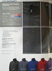 Performance Jacket details