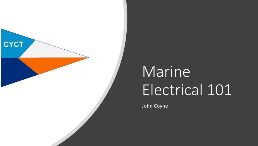 Marine Electrical 101 SS